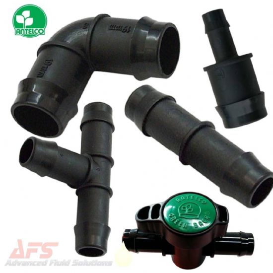 Irrigation Polypropylene Fittings, Hose Connectors, Elbows, Tees